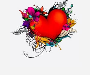 art, heart, and lovely image