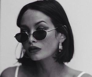 beauty, femme, and sunglasses image