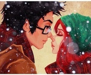 love, harry potter, and couple image