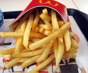 beautiful, follow, and French Fries image
