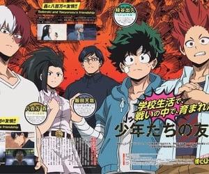kirishima, my hero academia, and midoriya image