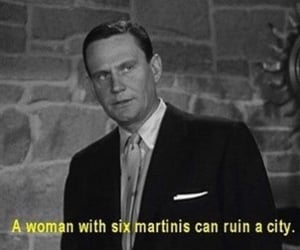 martini, movie, and quotes image