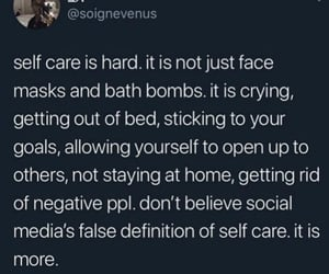 aesthetic, love quotes, and mental health image