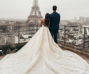 love, paris, and wedding image