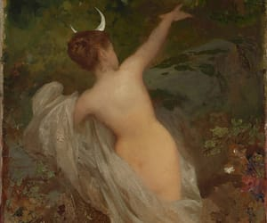 ethereal, folklore, and forest creature image
