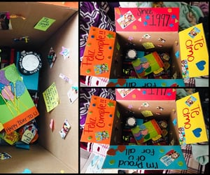bday, birthday, and box image