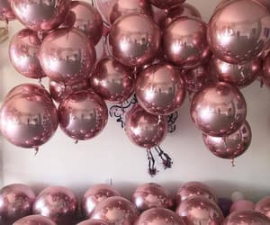 aesthetic, balloons, and beauty image