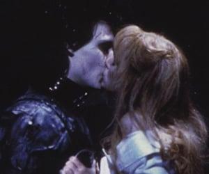 edward scissorhands, kiss, and johnny depp image