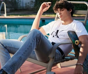 Calvin Klein and noah centineo image