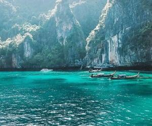 travel, thailand, and water image