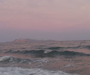 lilac, ocean, and pink image