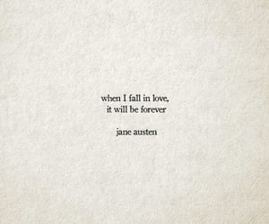 forever, in love, and jane austen image