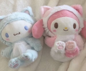 aesthetic, soft, and plushies image