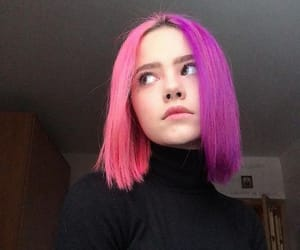 colorful, colourful hair, and dyed hair image