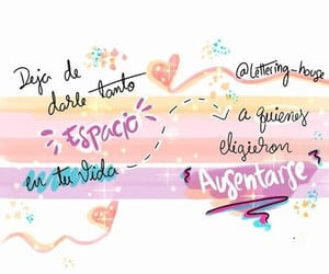 espacio, vida, and frases español image
