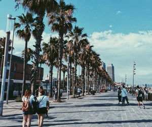 Barcelona, vacation, and beach image