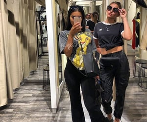 adidas, besties, and fashion style image
