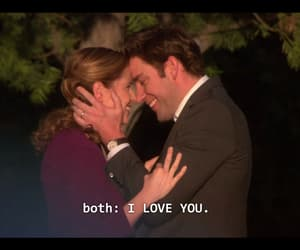 couple, I Love You, and jim halpert image