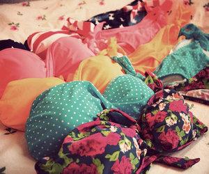 bikini, summer, and pink image