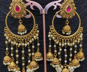 accessories, necklace, and bangles image