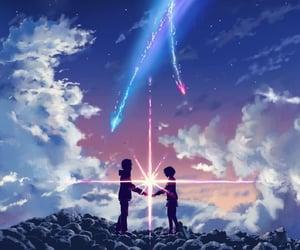 anime and your name image