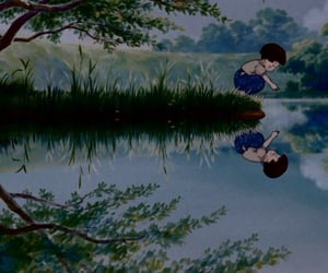 fireflies and the grave of fireflies image