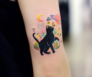 tattoo and colorful image