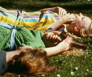 60s, flowers, and friends image