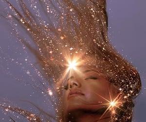 girl, glitter, and aesthetic image
