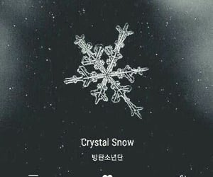 crystal snow and bts image