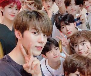 x1, seungyoun, and minhee image