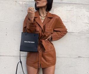 outfit, dior necklace, and Balenciaga image