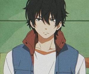 anime, tonari no kaibutsu-kun, and anime boy image