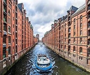 architecture, boat, and Dream image