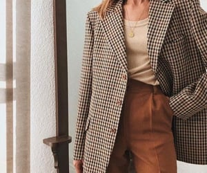 coat, fashion, and autumn outfit image