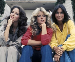 charlie's angels and 70s image