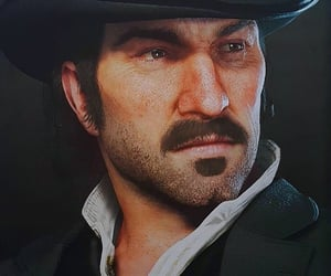 dutch, red dead redemption, and rockstar games image