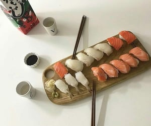 sushi, aesthetic, and food image