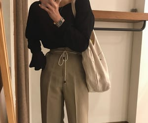 clean, cord, and fashion image