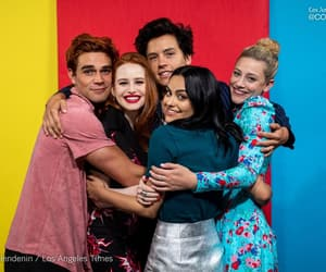 riverdale, madelaine petsch, and cole sprouse image
