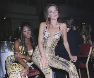 Carla Bruni, model, and Naomi Campbell image