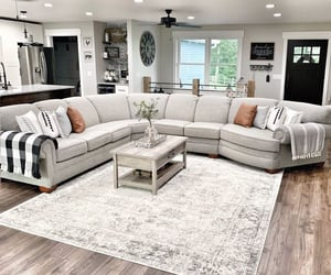 couch, dream home, and home image
