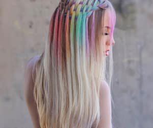 braid and hair style image