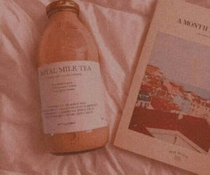 aesthetic, book, and beige image