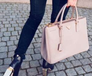 accessories, bag, and pink image
