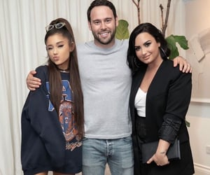 demi lovato, icon, and ariana grande image