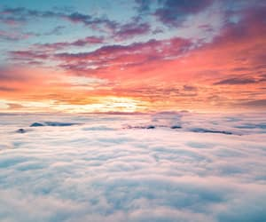 clouds, colorful, and colors image