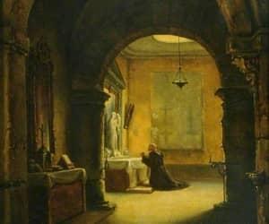 art, chapel, and dark image