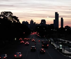 buenos aires, city, and highway image