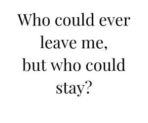 leave, lover, and Lyrics image